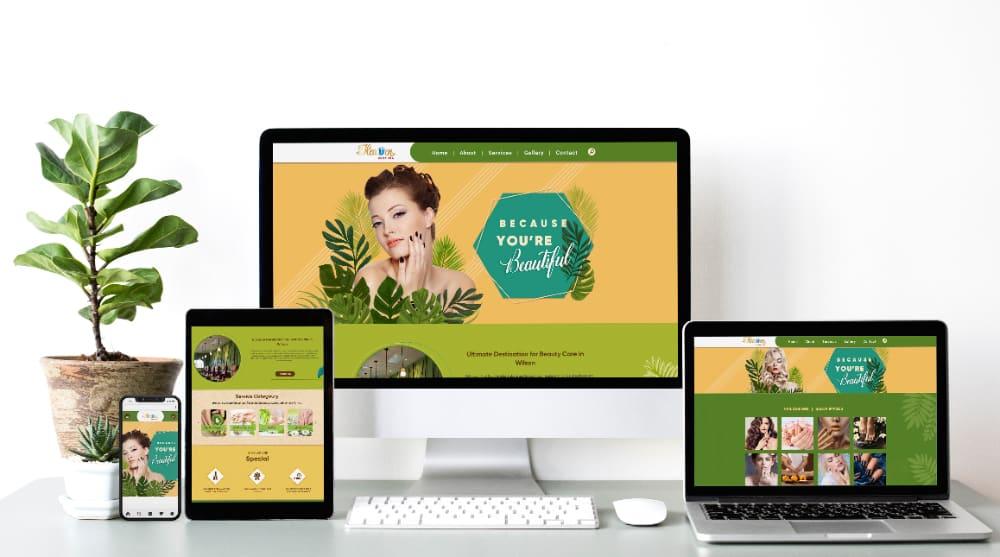 website nail salon