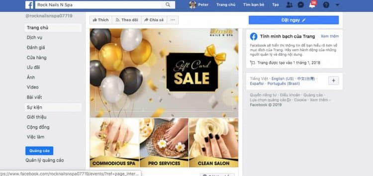 chay facebook ads