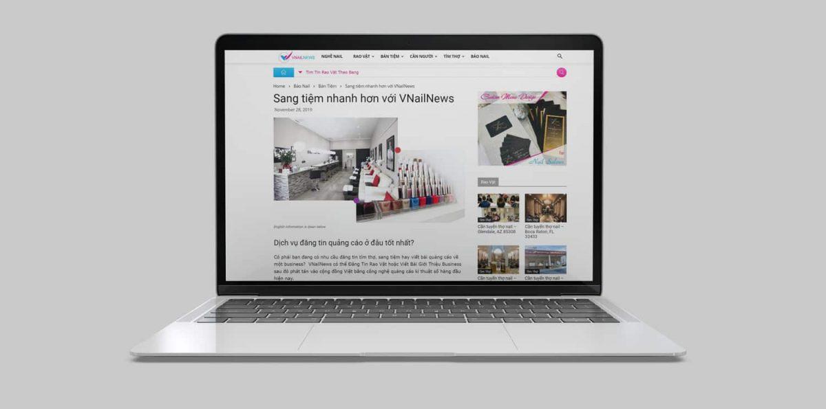 social marketing đơn giản hơn với VNailPro