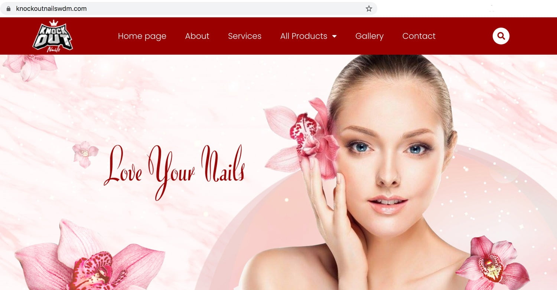 Website tiem nail